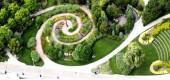 Muzyczny ogród w Toronto w kształcie klucza wiolinowego