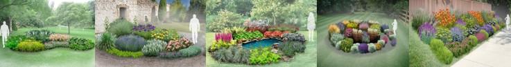 Gotowe projekty ogrodów
