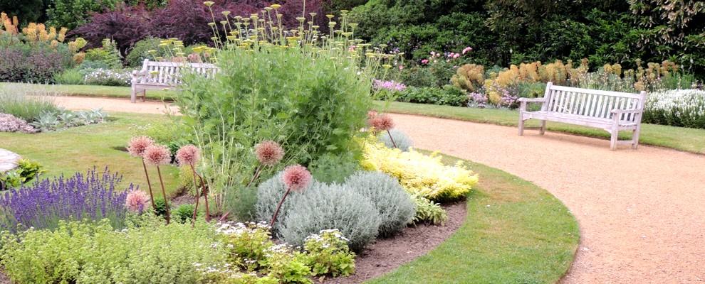 Rabata bylinowa w skład której wchodzą zioła wieloletnie.